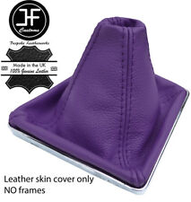 PURPLE TOP GRAIN REAL LEATHER GEAR GAITER FOR VAUXHALL OPEL ASTRA MK5 H 2004-09