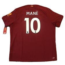 2019/20 Liverpool Home Jersey #10 Sadio Mane 2XL New Balance Soccer Football NEW