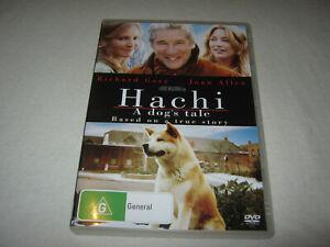 Hachi: A Dog's Tale - Richard Gere - VGC - DVD - R4