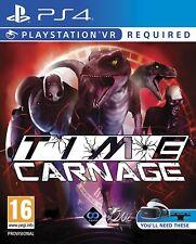 Time Carnage PSVR Ps4 Shooting Game