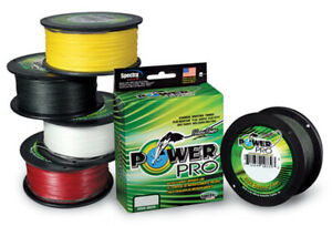 PowerPro Spectra Fishing Braid Line 1500 Yards -- Pick Color/Line Test