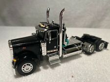 DCP FIRST GEAR BLACK 1/64 PETERBILT 379 DAY CAB . BRAND NEW.
