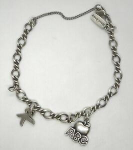 James Avery Sterling Silver Charm Bracelet With 2 Charms