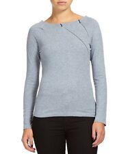 Long Sleeve Body Casual Petite Tops & Shirts for Women