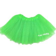 Tutu de Ballet Danse Soirée Jupe Jupon pour filles -  taille unique - vert clair