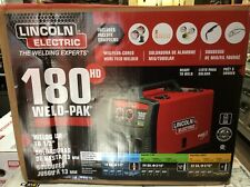 NEW!!  LINCOLN ELECTRIC 180 Amp Weld-Pak 180 HD MIG Wire Feed Welder with Magnum