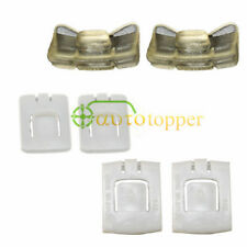 6pcs Seat Rail Runner Clip Slider Guide Piece For VW MK1 MK2 MK3 Golf Corrado