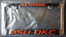 OSU-OKC Oklahoma State Cowboys Oklahoma City Pokes ALUMNI License Plate Frame