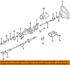 FORD OEM Steering Column-Upper Shaft F2UZ3524A
