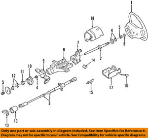 FORD OEM Steering Column-Upper Shaft F2UZ3524A