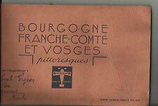 Album images chocolat Lanvin - 1935 -collector - Bourgogne - F.C. Vosges pittore