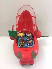 Disney Little Einsteins Red Pat Pat Rocket 4 Figures Lights Sounds Green Screen
