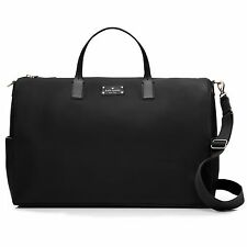 KATE SPADE Remington Place Filipa X-Large Leather Travel Bag Weekender Black NWT