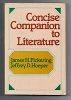 Concise companion to literature