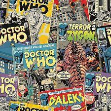 Doctor who comics 10m Papel Pintado Dormitorio de Niños Pared característica de Decoración de pared NUEVO