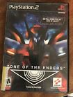 Zone of the Enders (Sony PlayStation 2, 2001) COMPLETE CIB