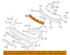 KIA OEM 11-13 Sorento Bumper Face-Foam Impact Absorber Bar 866201U000