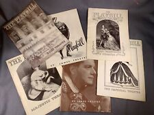 LOT of 6 Vintage PLAYBILLS from 1930s New York City Broadway a473