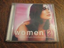 cd album women (2) ZAZIE, THE CARDIGANS, DONNA SUMMER, DIANA ROSS...