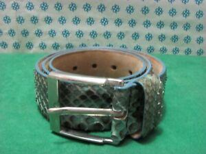 Vintage - Belt for man in original genuine Reptile , Cm. 100 x 4 - STR 84C