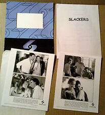 Press kit~ SLACKERS ~2000 ~Devon Sawa ~Jaime King ~Jason Segel ~Laura Prepon