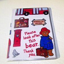 Paddington Bear Gift Card Holder or Slim Wallet Card Case: Credit Bus Subway