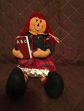 Raggedy Ann Doll Applause ABC book