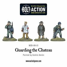Warlord Games Guarding the Chateau Bolt Action Wargaming Miniatures