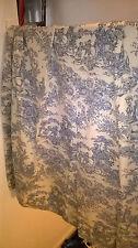 """Toile De Jouy Curtains Woven Cotton 50"""" x 70"""""""