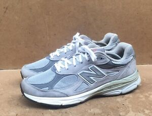 New Balance 990 Gray M990GL3 Size USA Men's 11 Uk 10.5 Heritage MADE IN USA