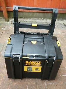 DeWalt empty trolley storage Box NO TOOLS Included stackable Tough System 2.0