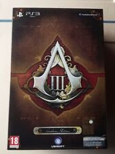 Collector's edition Assassin's creed 3 freedom edition ps3