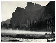1949 VINTAGE YOSEMITE California Landscape Art Photograph Engraving, ANSEL ADAMS