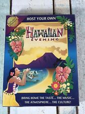 Host Your Own Hawaiian Evening  Cheatwell Games Audio CD SEALED