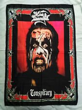 KING DIAMOND - Conspiracy FLAG Heavy thrash death METAL cloth poster