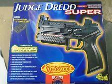 Saturn Judge Dredd PSX Playstation Dual Shock Namco GunCon Light Gun PS1 PS One