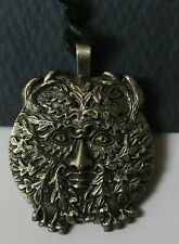 CELTIC MAGIC Cast Metal Pendant caillech owl