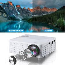 Mini 1080P HD Portable LED Projector Home Cinema Theater Multimedia USB SD HDMI
