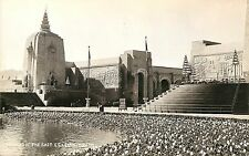 1939 Golden Gate Exposition RPPC Postcard; Temples of the East, San Francisco CA