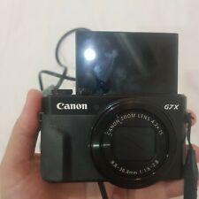Canon PowerShot G7 X Mark II 20.1 MP Digital Camera with Touchscreen - Black.