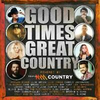 GOOD TIMES GREAT COUNTRY 2CD NEW Luke Bryan Luke Combs Kane Brown Sam Hunt