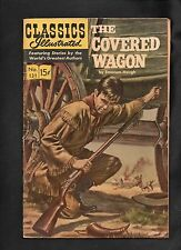 Classics Illustrated #131 Vg+ Hrn167 (The Covered Wagon) Emerson Hough