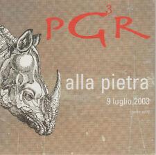"""PGR LINDO FERRETTI GIORGIO CANALI MAROCCOLO """"ALLA PIETRA"""" RARO CDs PROMO"""