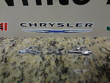 05-14 Jeep Liberty Commander New 4x4 4 x 4 Emblem Badge Nameplate Mopar Oem