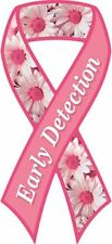"""Early Detection"" Breast Cancer Awareness Ribbon Magnet"