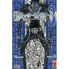 DEATH NOTE 3 - RISTAMPA - PLANET MANGA - PANINI - NUOVO