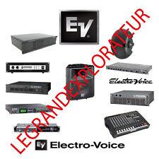 Ultimate  EV Electro-Voice  Repair Service Manuals & Schematics  (PDFs manual s)