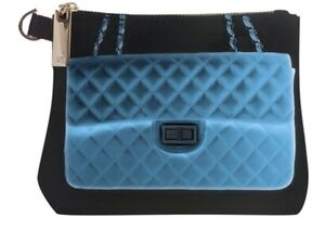 NWT X RAY Status Look Clutch Cosmetic Bag