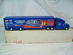 NASCAR Toy Transport Truck Jeff Gordon #24 Dupont New in Box.  #3