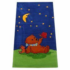 "Teppich ""Der Mondbär MO-1370"" Handtuft Kinderpielteppich 80x150 NEU"
